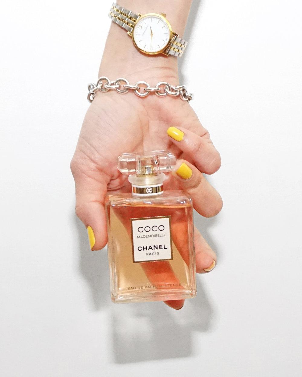 My current favourite perfume -   Coco Mademoiselle eau de perfum Intense  .
