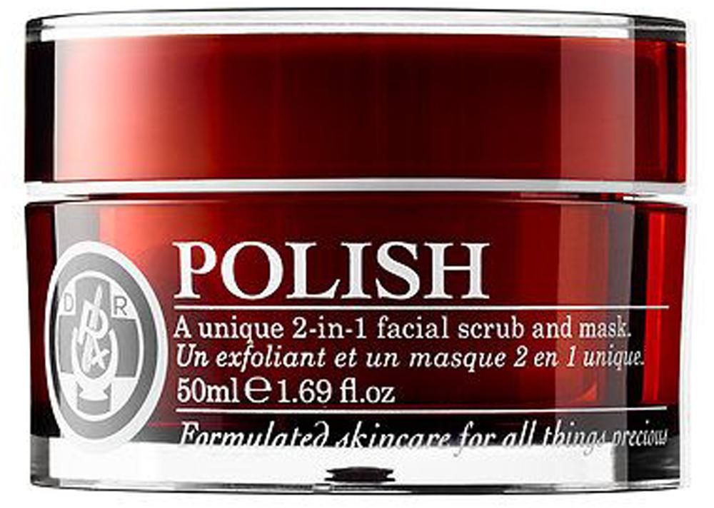 POLISH 2-in-1 Facial Scrub & Mask, Dr. Roebucks.jpg