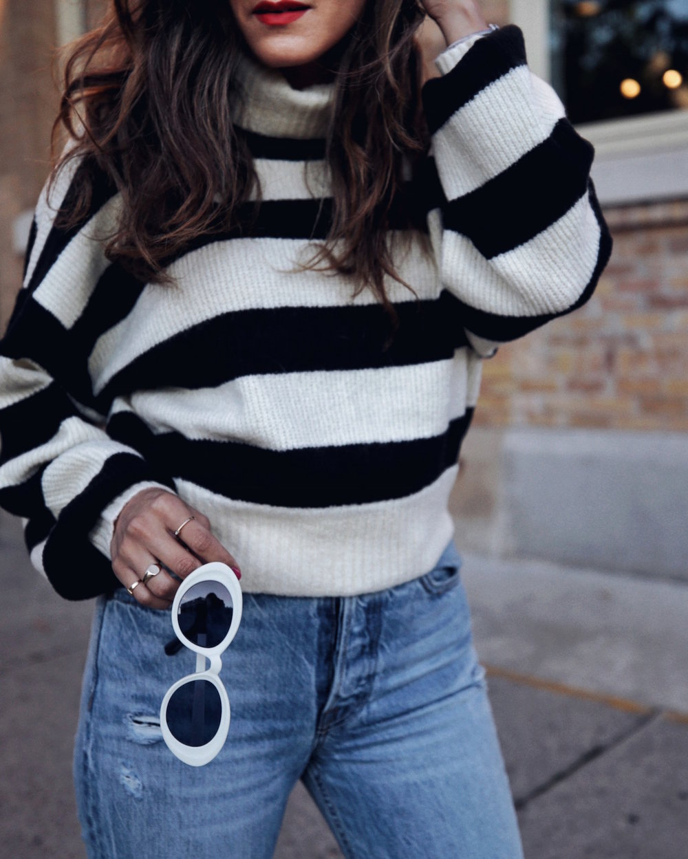 follow me on IG @_nathaliemartin - REVOLVE striped sweater, GRLFRND Karoline jeans, Christian Louboutin Anjalina shoes - woahstyle.com 3.JPG