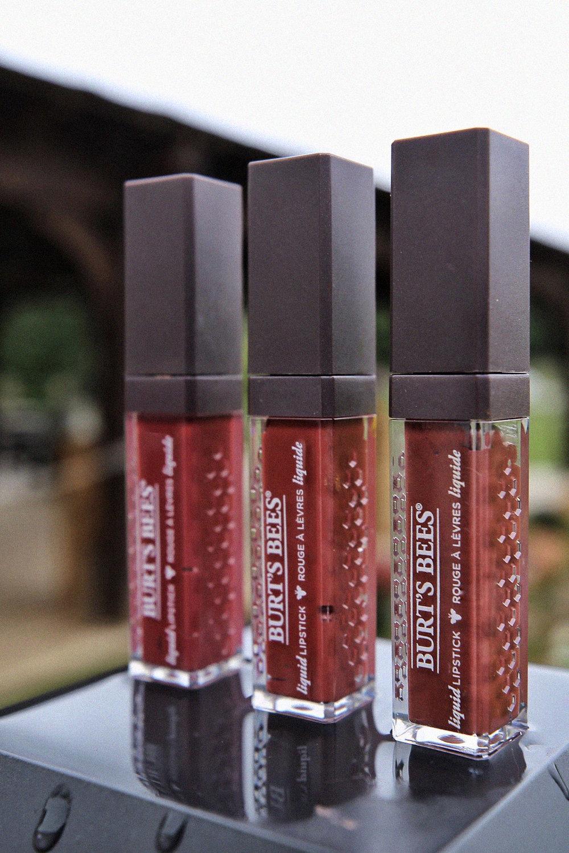 three Burt's Bees custom liquid lipstick shades by Nathalie Martin, woahstyle.com_0598.JPG