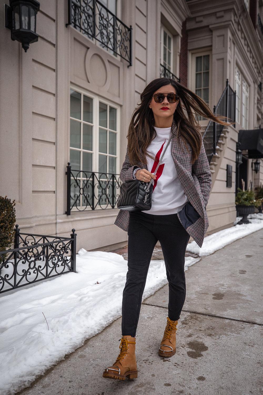 nathalie martin - anine bing lightning bold sweater, alexander wang lyndon boots, bonlook jerry glasses, plaid blazer, frank and eileen joggers, street style, pinterest @woahstyle_7085.jpg
