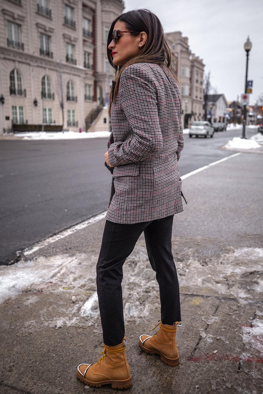 nathalie martin - anine bing lightning bold sweater, alexander wang lyndon boots, bonlook jerry glasses, plaid blazer, frank and eileen joggers, street style, pinterest @woahstyle_7135.jpg