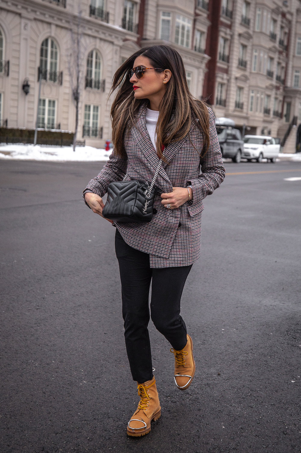 nathalie martin - anine bing lightning bold sweater, alexander wang lyndon boots, bonlook jerry glasses, plaid blazer, frank and eileen joggers, street style, pinterest @woahstyle_7141.jpg
