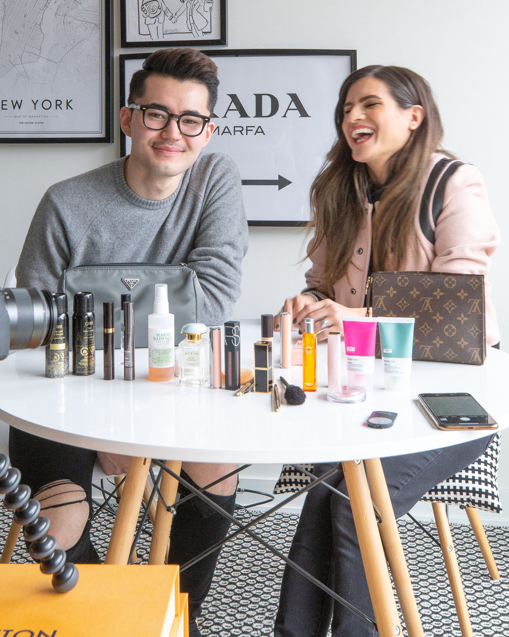 nathalie martin and michael biro - what's in my makeup bag - woahstyle.com_7413.jpg
