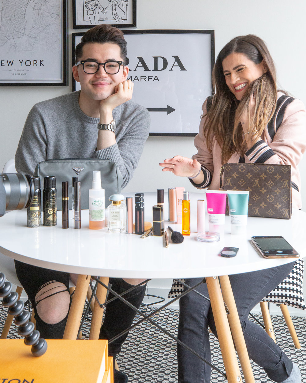 nathalie martin and michael biro - what's in my makeup bag - woahstyle.com_7412.jpg
