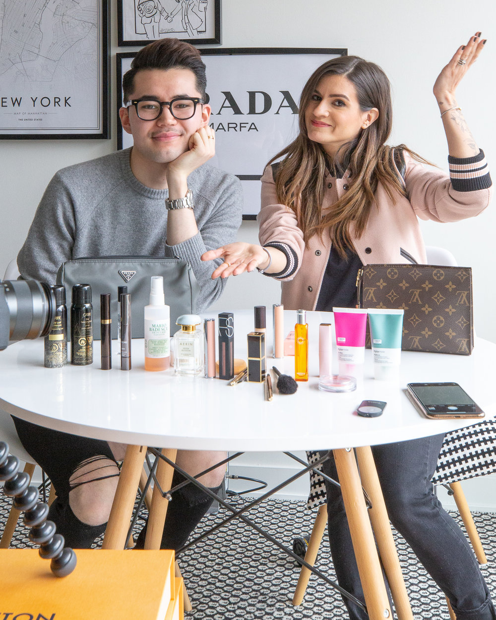 nathalie martin and michael biro - what's in my makeup bag - woahstyle.com_7414.jpg