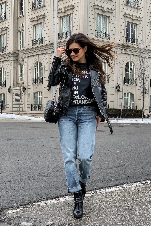 nathalie martin, anine bing city love sweatshirt, iro paris patent leather moto jacket, aritzia ex boyfriend jeans, phillip lim patent leather ankle boots, saint laurent lou lou bowling bag, street style, woahstyle.com_5221.jpg