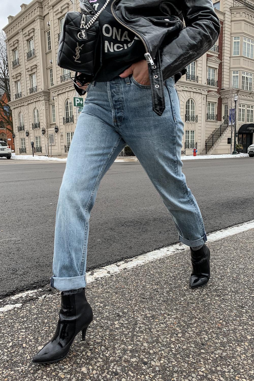 nathalie martin, anine bing city love sweatshirt, iro paris patent leather moto jacket, aritzia ex boyfriend jeans, phillip lim patent leather ankle boots, saint laurent lou lou bowling bag, street style, woahstyle.com_5255.jpg