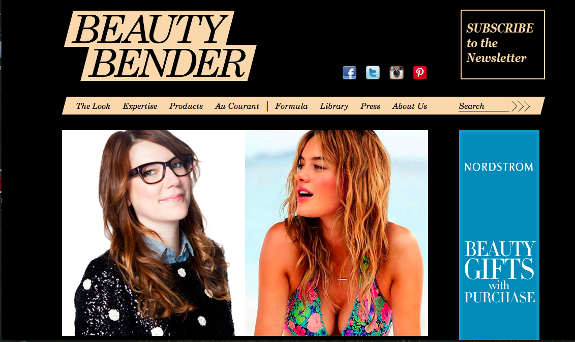 Read my newest interview on Beauty Bender blog here! Brighten up your polar vortex blues with a little bit of sunshine ;)   Link below:     http://www.beautybender.com/2014/01/ray-of-light/#more-7025