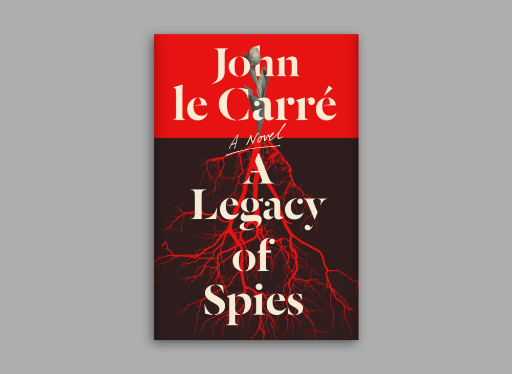 The first direction features one of the main themes of the book, a tulip. The split levels of the tulip above ground and what was literally underneath could represent many of the common, contradictory themes in George Smiley's life and A Legacy of Spies. For example, it reflected the past vs. present narrative of the book quite nicely.