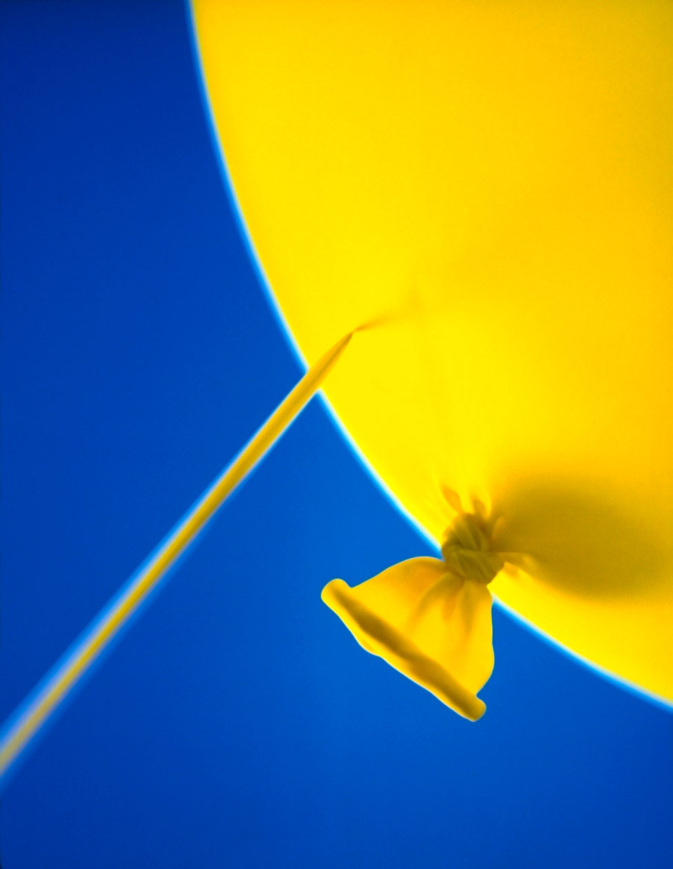Rick Davis Photographic, Philadelphia, Still Life, Photography, Still Life Photography, Balloon, Pop, Needle