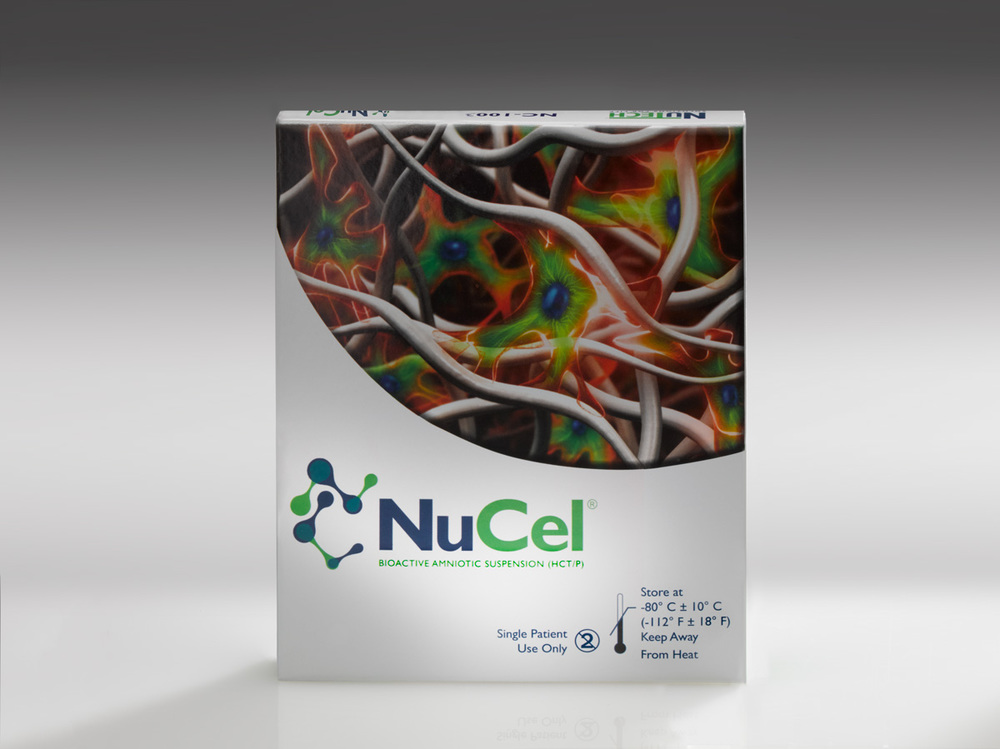 NuTech NuCel product in packaging