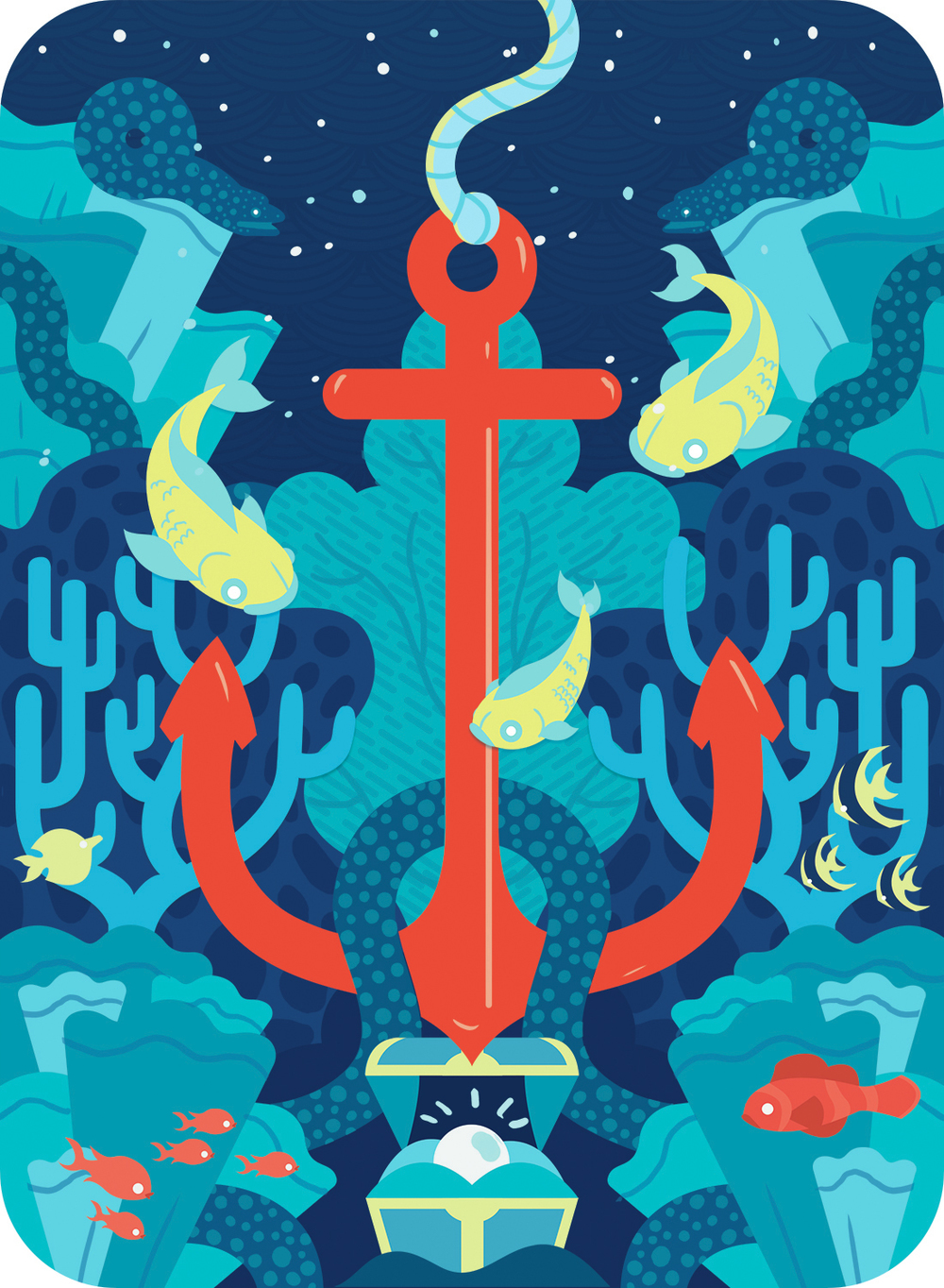 ESALAZAR-FISH N SHIPS-PLAYING CARD BACK RED ANCHOR copy.jpg