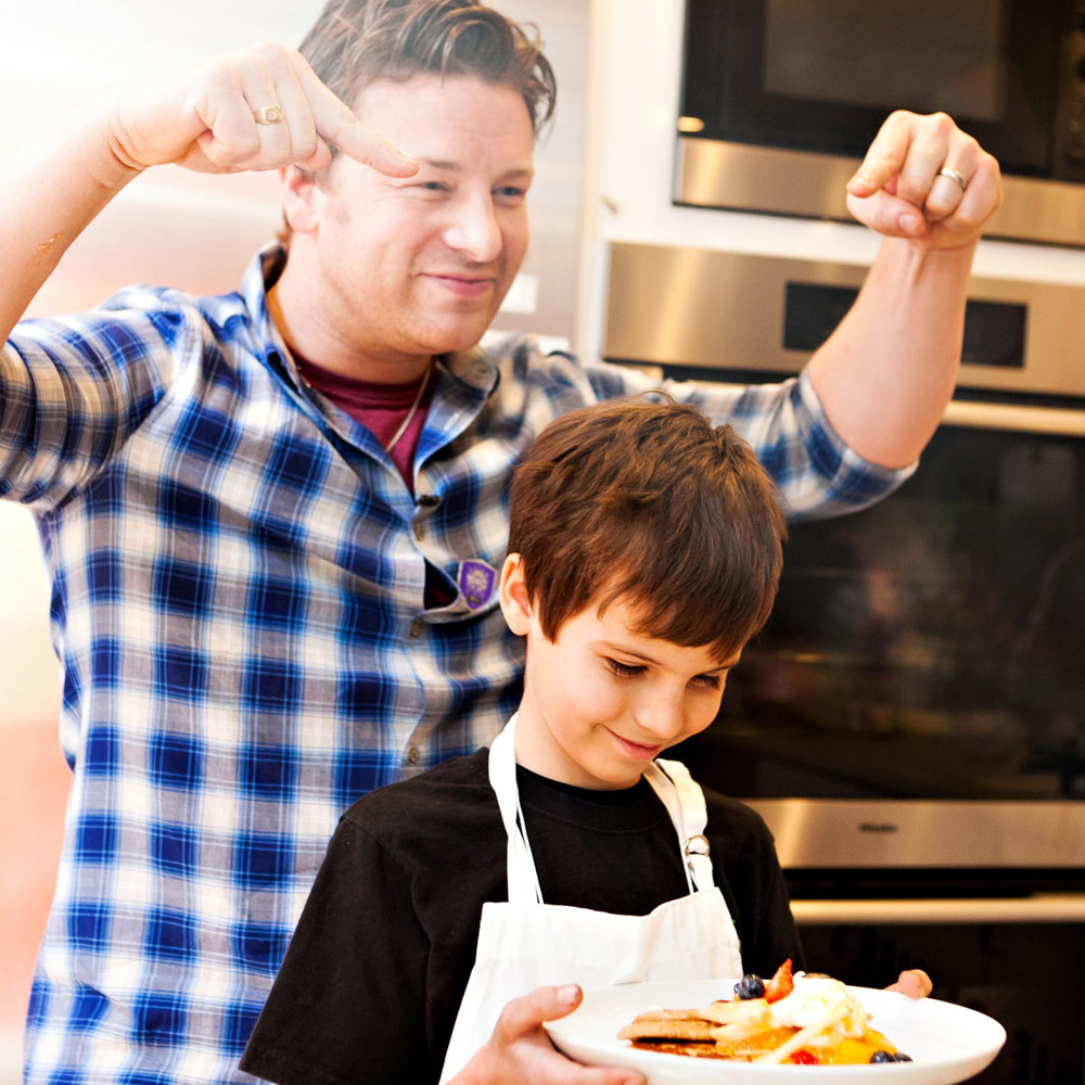 Jamie Oliver, Chef and activist