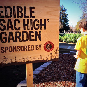 Sacramento High School Edible Garden