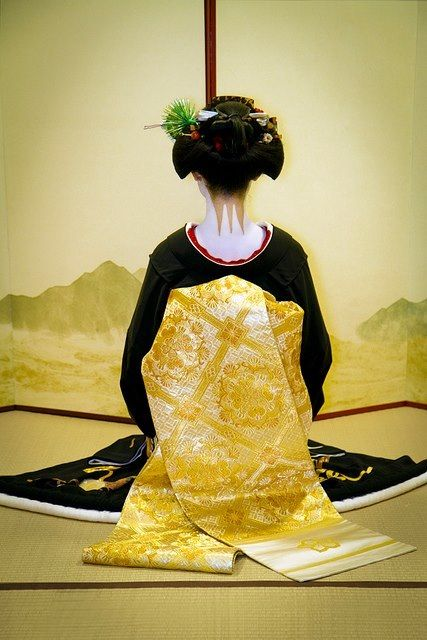 A stunning Geisha's Obi in Kyoto.