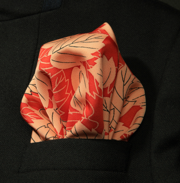 Japanese Happa Pocket Square