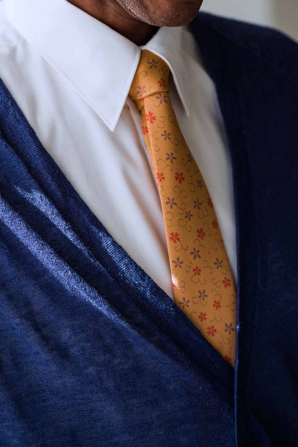 Gold Arabesque Tie