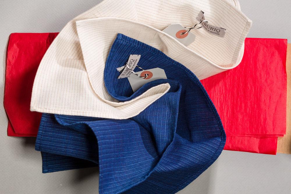 Classic Kurume Cotton Handkerchiefs