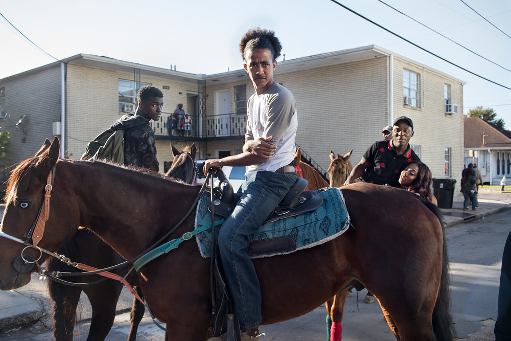 Young Men on Horses - New Orleans, 2017