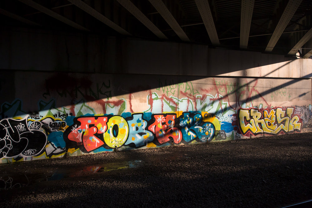 FOBEK CRASH Underpass Graffiti - Baltimore, MD 2.6.2016 - WAS-NYP