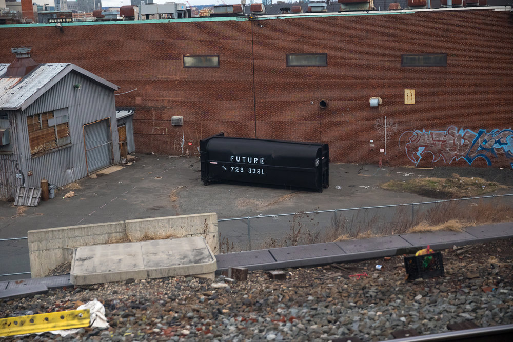 FUTURE dumpster.  Harrison, NJ - 2.26.2017 - NYP-WAS