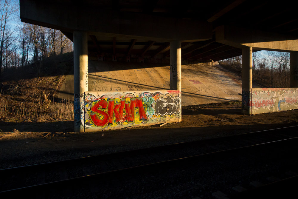 SKUM Underpass Graffiti  - Under Otts Chapel Rd., Newark, DE - 2.7.2016 - WAS-NYP