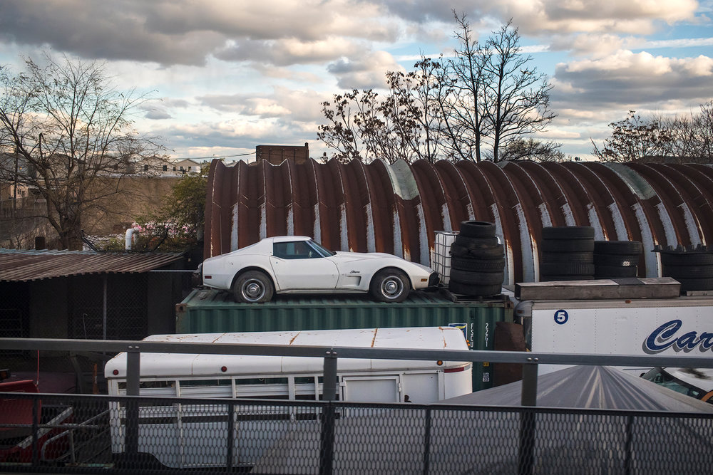 Corvette Stingray on Shipping Container - Newark, NJ - 11.27.2016 - WAS-NYP