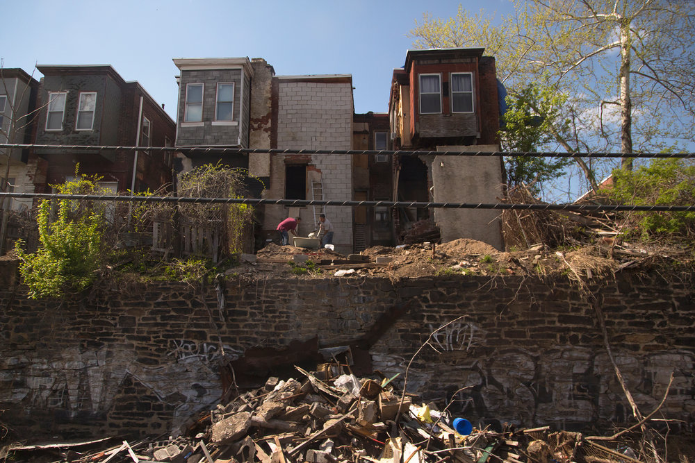 Home Renovation - Strawberry Mansion, Philadelphia, PA 4.24.2015