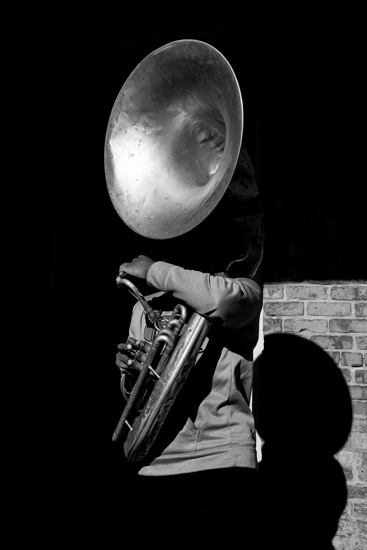 Street Musician - New Orleans, 2016