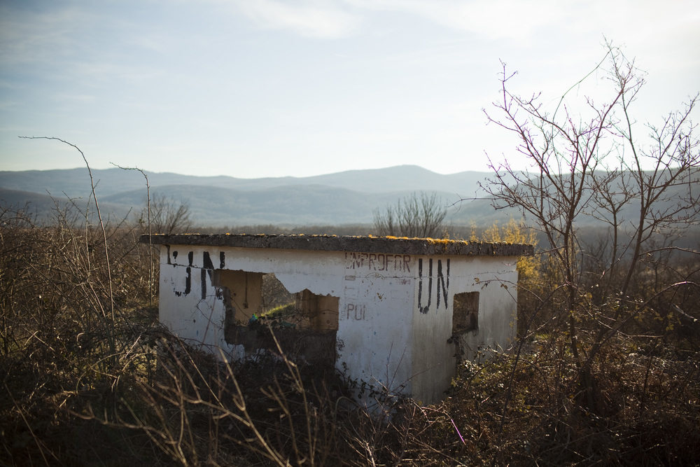 UN Observation post, border between Bosnia and Herzegovina and Croatia, the edge of the Bihac pocket where violent fighting included significant instances of sexual violence. Photo: Jared Moossy