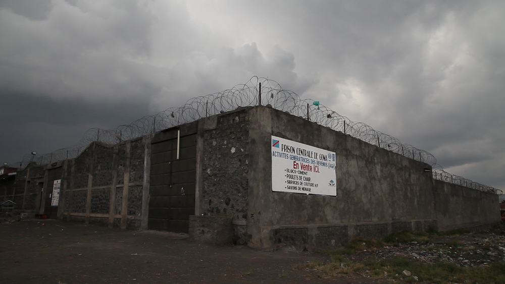 Goma prison. Photo: Film still from The Prosecutors, Michael Christopher Brown