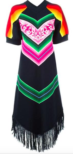 Sacai Pattern Dress