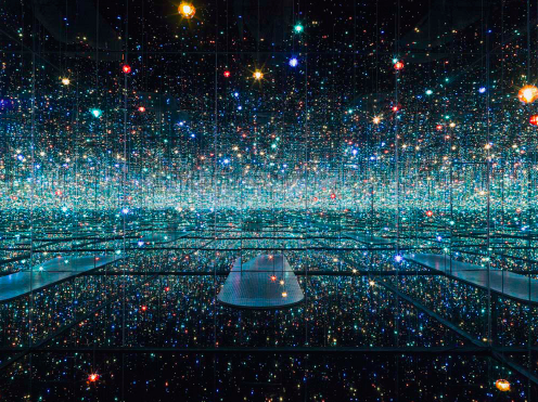 Yayoi Kusama's Infinity Room at The Broad
