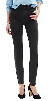 Medal High Rise Skinny Jeans in Captain's Wash