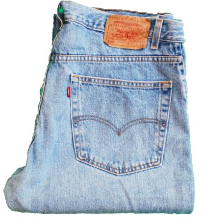 Wear: Vintage Levi's 501s