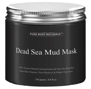 Skin: Deep Sea Mud Mask by Pure Body Naturals
