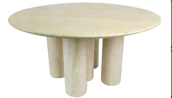 Il Colonnato Dining Table for  Cassina  by Italian furniture designer/architect Mario Bellini.