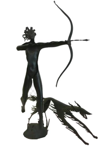 Weiner Werkstatte/Hagenauer Sculpture .