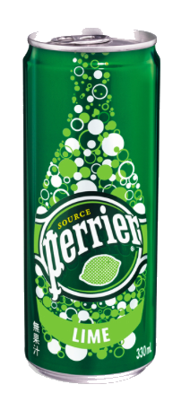 Drink: Perrier Slim Can