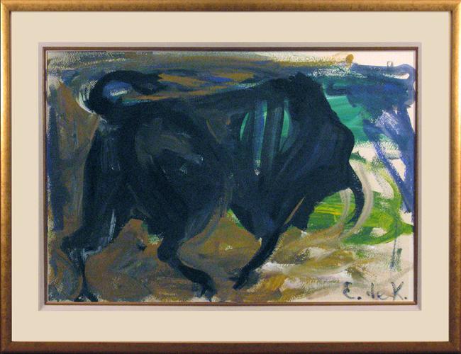 ELAINE DE KOONING<br />Charging Bull