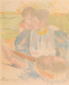 The Banjo Lesson, c.1905-15