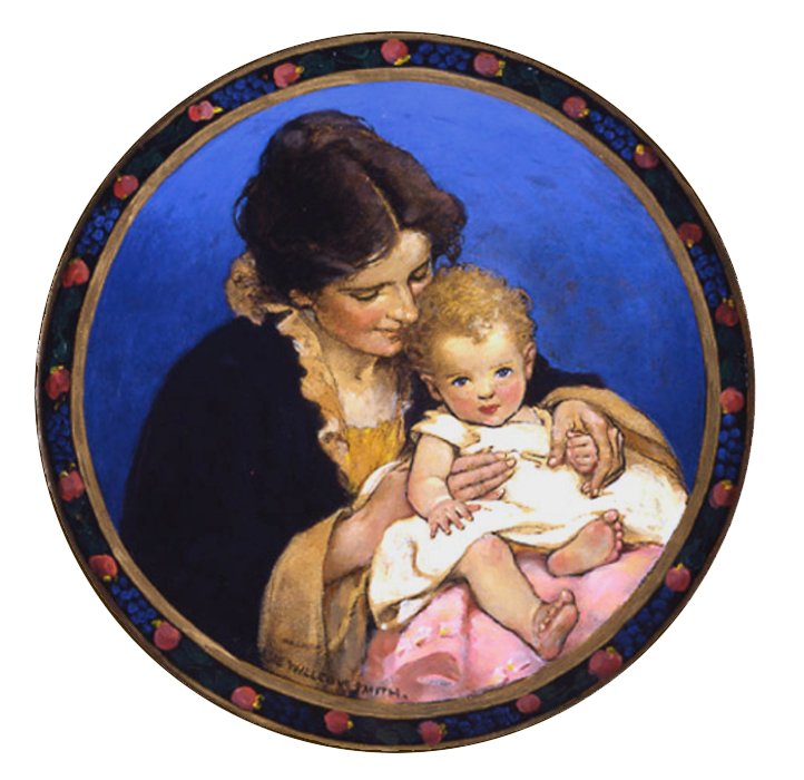 JESSIE WILCOX SMITH<br />Mother & Child