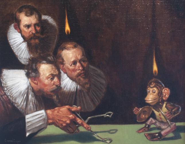 CONRAD COOPER<br/>Pentecostal Monkeyshines