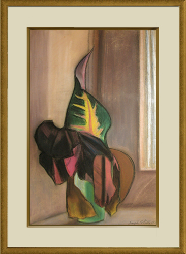 JOSEPH STELLA<BR/>Leaves in Vase, 1937