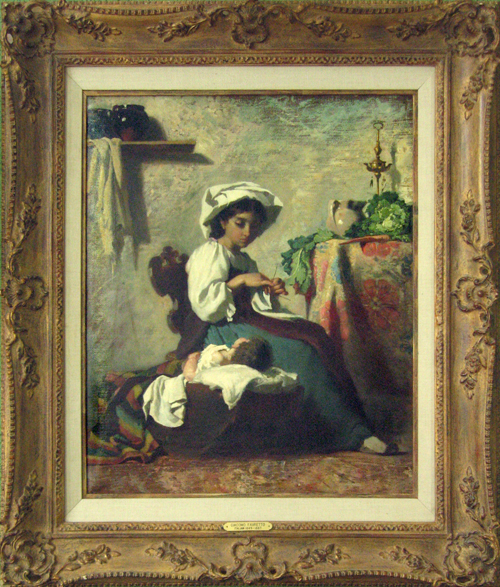 GIACOMO FAVRETTO<BR/>Mother with Child