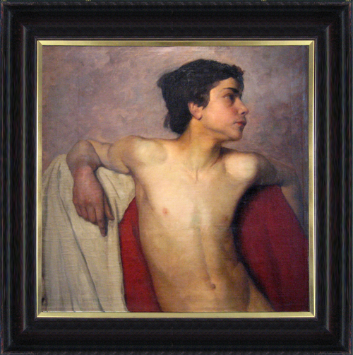 SCHOOL OF BOUGUEREAU<BR/>Peasant Boy