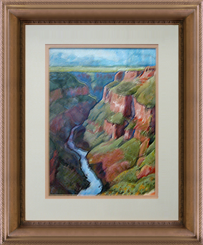 NANCY BOREN<BR/>Rio Grande Gorge Near Taos