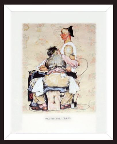 ATTRIBUTED TO NORMAN ROCKWELL<BR/>Study #2