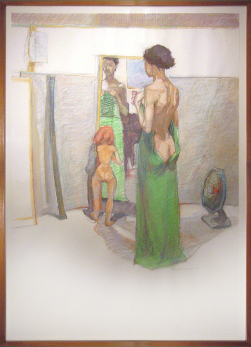 SUE FERGUSON GUSSOW<BR/>The Green Gown